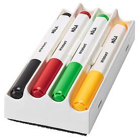 IKEA MALA (001.840.42) Ручка для дошки, різні кольори, різні кольори