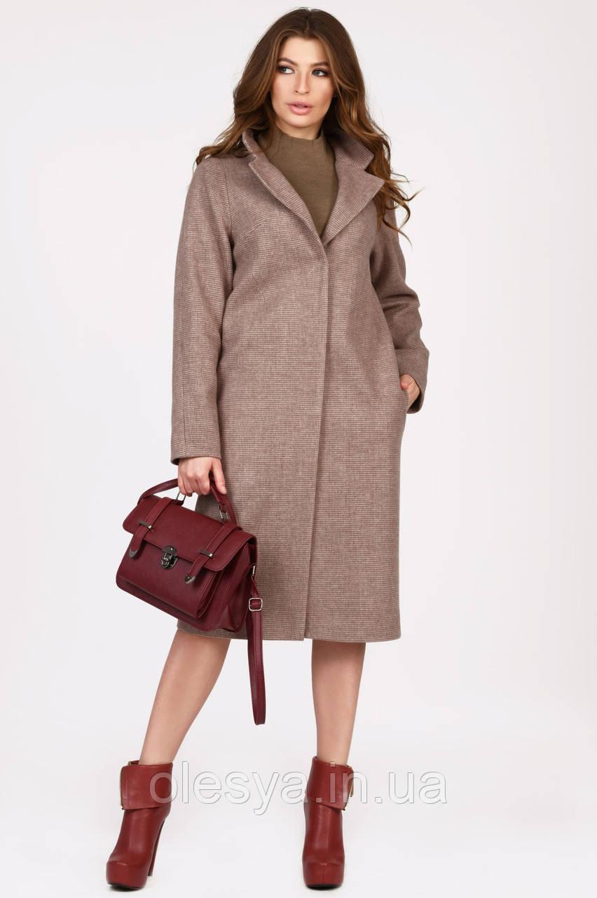 Новинка! Пальто женское бренда x-woyz PL-8827-10 Размеры  44 46