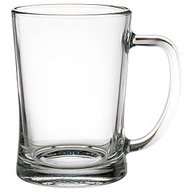 IKEA MJOD (100.922.16) Пивной бокал, прозрачное стекло
