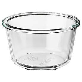 IKEA IKEA 365+ (303.591.96) Контейнер для їжі, круглий, склянка