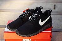 Мужские летние кроссовки Nike Roshe Run Solo 40 Черный