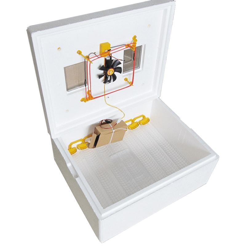 Теплуша ИБ-63 220/50 ТА (В) — инкубатор с ТЭНом, автопереворотом яиц и  влагометром)