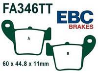 Тормозные колодки для мотоциклов Geon и Honda EBC FA346TT