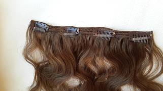 Волосы на заколках, трессы и пряди на клипсах накладные