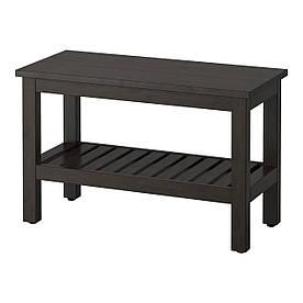 IKEA HEMNES (202.236.22) Лава, чорно-коричневе пляма