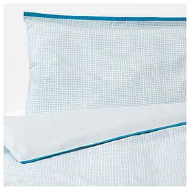 IKEA KLAMMIG (503.730.16) Набір подушок для дитини, бірюзовий