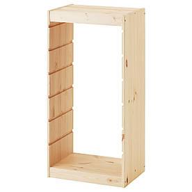 IKEA TROFAST (103.086.93) Рамка для ящиков светлая сосна