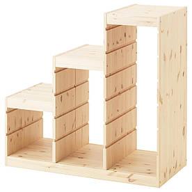 IKEA TROFAST (603.086.95) Рамка для ящиков светлая сосна