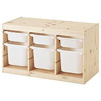 IKEA TROFAST (191.026.59) Комод для игрушек, ящик белый