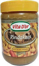 Арахисовая паста Vita D'or Pindakaas Stukjes Pinda 600 гр. Голландия