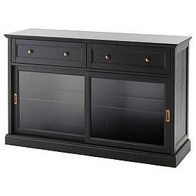 IKEA MALSJO (003.277.72) Сервант, чорний колір