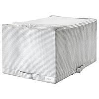 IKEA STUK (403.096.86) Сумка, белый/серый