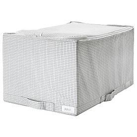 IKEA STUK (403.096.86) Сумка, білий/сірий
