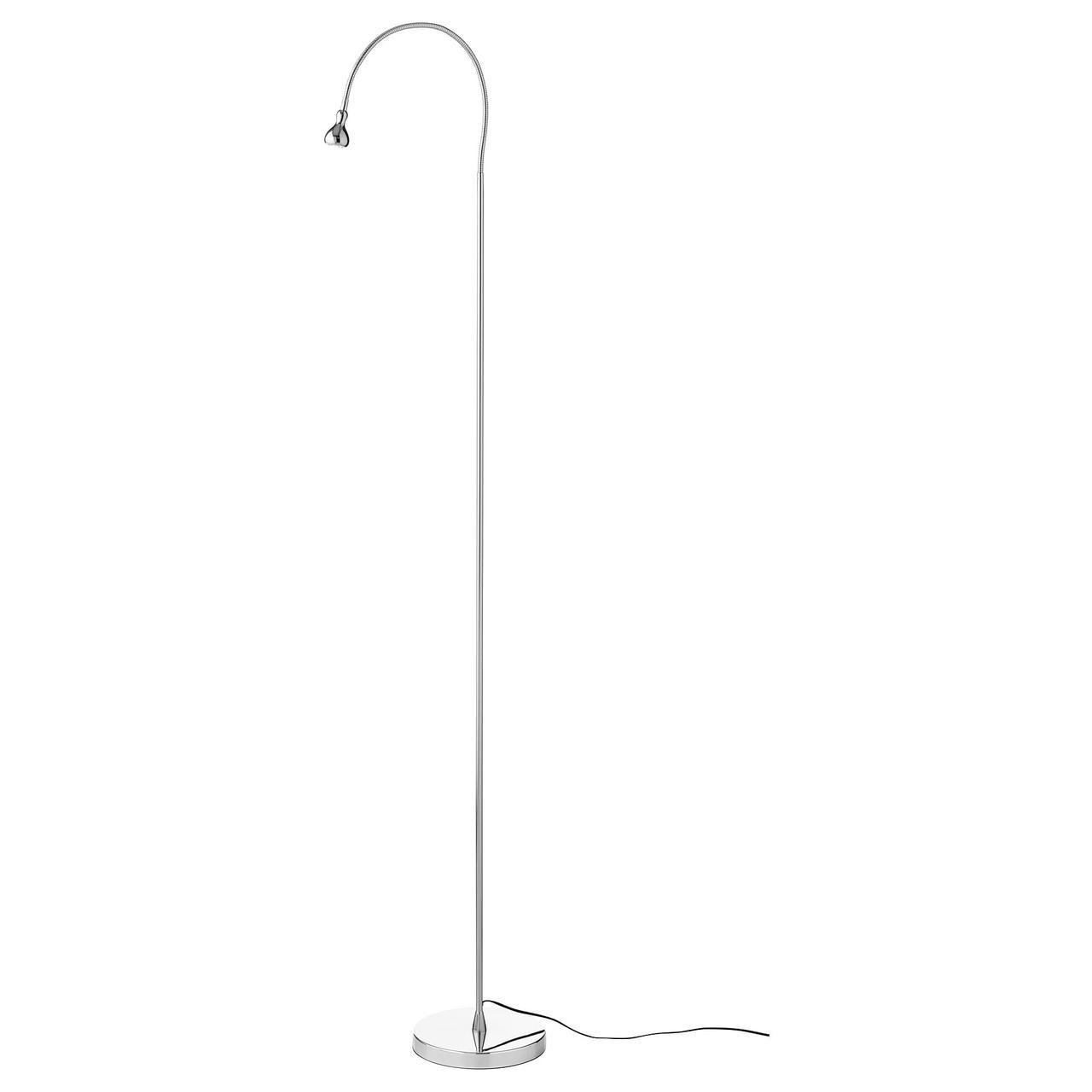 IKEA JANSJO (203.735.36) Торшер, серебристый