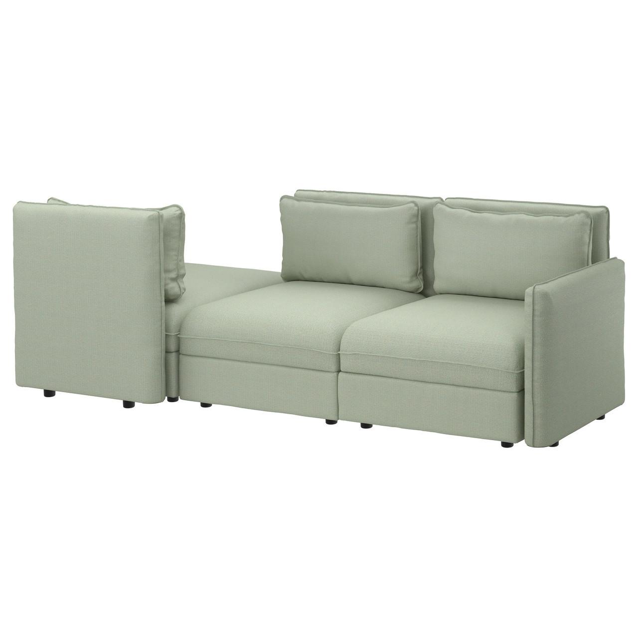 IKEA VALLENTUNA (891.625.84)  3-местный диван, Orrsta светло-серый