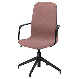 IKEA LANGFJALL (492.618.78) Комп'ютерне крісло, Gunnared світло-рожевий