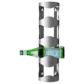 IKEA VURM (300.557.60) Подставка для 4 бутылок вина, нержавеющая сталь