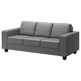 IKEA SKOGABY (902.616.39) Тримісний диван, Glose, Bomstad black