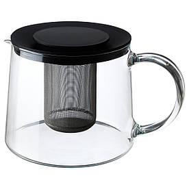 IKEA RIKLIG (901.500.71) Чайник, скло