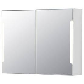 IKEA STORJORM (802.481.20) Дзеркальна шафка / 2 дверки
