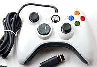 Проводной игровой USB джойстик USB-360, фото 1