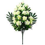 Букет розы двухцветной.  (5 шт. в уп), фото 5
