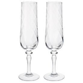 IKEA KONUNGSLIG (403.502.23) Келих для шампанського., прозоре скло