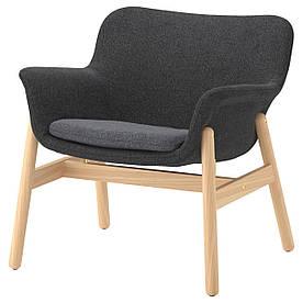 IKEA VEDBO (103.421.02) Крісло, Гуннаред, темно-сірий