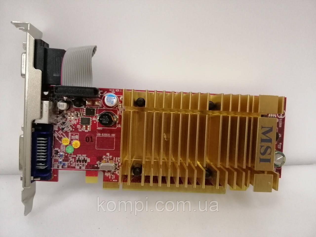 Видеокарта ATI Radeon HD 3450 256mb  PCI-e