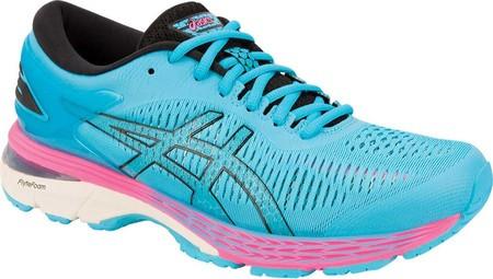 Женские кроссовки ASICS GEL-Kayano 25 Running Shoe Black ASICS Blue -  SaleUSA