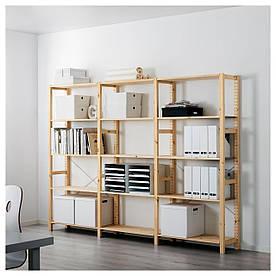 IKEA IVAR (798.945.63) 3 секції/полиці, сосна