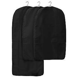 IKEA SKUBB (801.933.73) Чехол для одежды, 3 шт., Черный