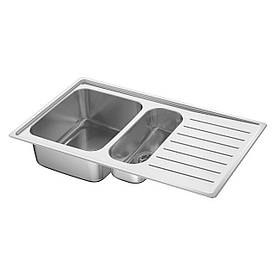 IKEA VATTUDALEN (891.581.91) Мийка, 1 ½ кома посухи, нержавіюча сталь