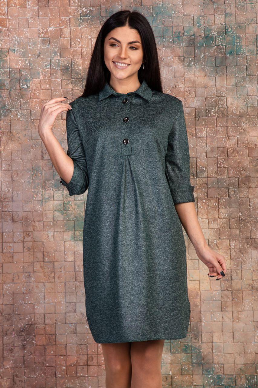 Женское платье с напылением (2 цвета)