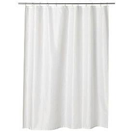 IKEA SAXALVEN (103.490.71) Завісу для душу, білий