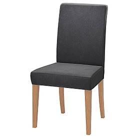 IKEA HENRIKSDAL (392.132.65) Стілець, дуб, Videslund різнобарвний
