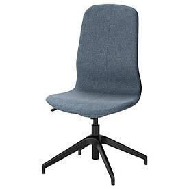 IKEA LANGFJALL (291.751.17) Комп'ютерне крісло, Гуннаред темно-сірий