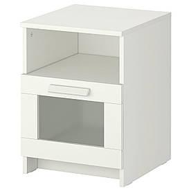 IKEA BRIMNES (102.349.42) тумбочка, білий