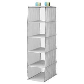 IKEA SLAKTING (403.279.11) Підвісні полиці, сірий
