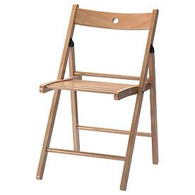 IKEA TERJE (648.331.08) Складаний стілець, бук