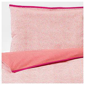 IKEA KLAMMIG (003.730.09) Набір подушок для дитини, червоний