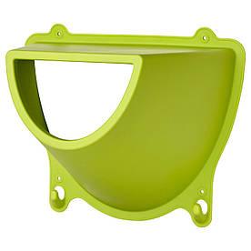 IKEA KROKIG (202.235.18) Настінні стовпи з гачками, зелені
