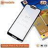 Захисне Full Glue скло Mocolo Google Pixel 3 XL 5D (Black)
