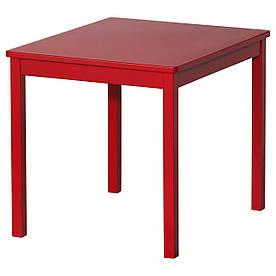 IKEA KRITTER (601.537.02) Дитячий стіл, червоний