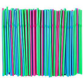 IKEA SODA (503.545.98) Трубочки, зелений флуоресцентний, яскраво-синій, яскраво-рожевий