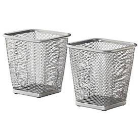 IKEA DOKUMENT (401.909.32) Контейнер для наконечників, сріблястий