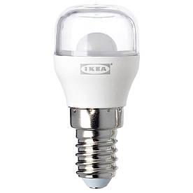 IKEA RYET (503.655.54) Лампа LED E14 100 люмен, прозора