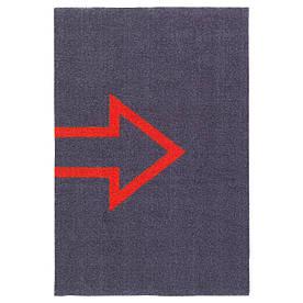 IKEA SEJET (403.827.71) Придверні килимок, темно-сірий