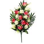 Букет розы двухцветной.  (5 шт. в уп), фото 3