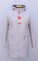 """Женская,стёганная,демисезонная куртка больших размеров.Новинка """"Весна-2021""""."""